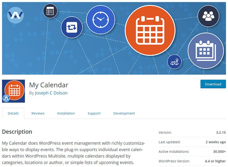 best-wordpress-events-plugins-my-calendar