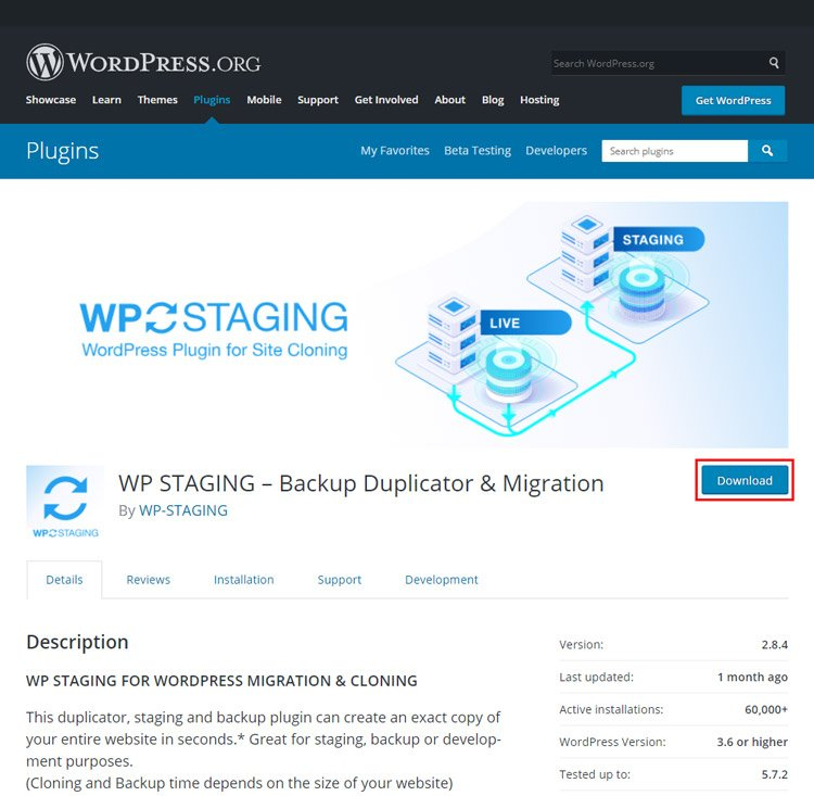 how to easily create staging site wordpress before publishing new updates wp staging