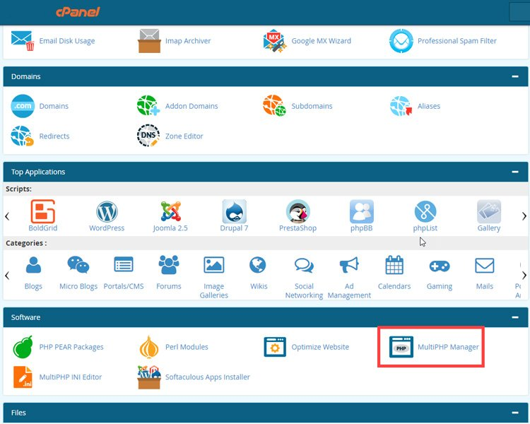 what causes the wordpress and mysql error and how to fix it multi php manager