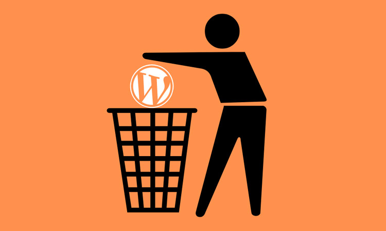 how-to-delete-wordpress-account-featured image